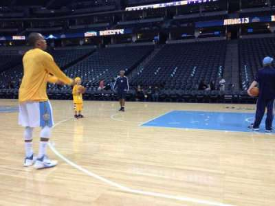 Pepsi Center secção Nuggets Bench