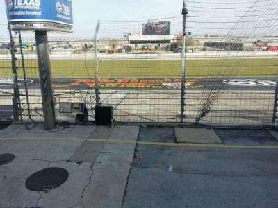 Texas Motor Speedway, secção: 101, fila: 5, lugar: 19
