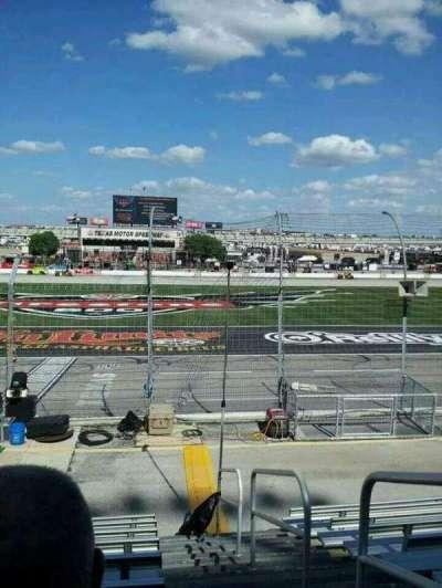 Texas Motor Speedway, secção: 101, fila: 9, lugar: 20