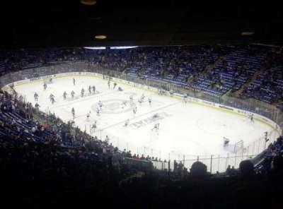 Madison Square Garden, secção: 413, fila: 6, lugar: 1
