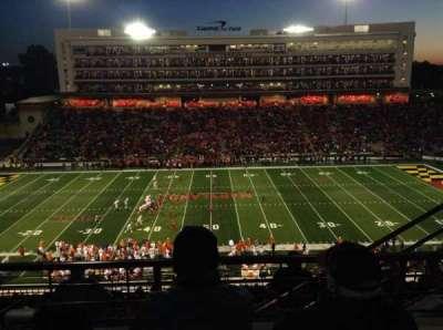 Maryland Stadium, secção: 206, fila: M