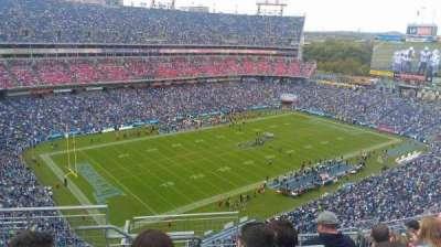 Nissan Stadium, secção: 321, fila: P, lugar: 20