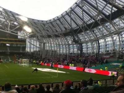 Aviva Stadium, secção: 102, fila: R