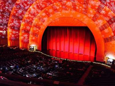 Radio City Music Hall secção 2nd mezzanine 2