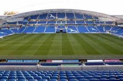 American Express Community Stadium, secção: E3D, fila: G