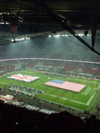Wembley Stadium secção 522