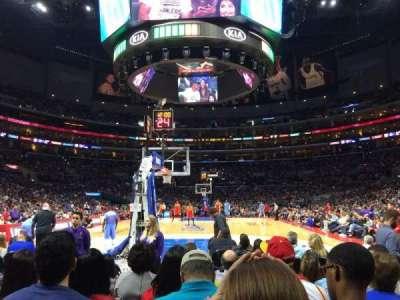 Staples Center secção 115
