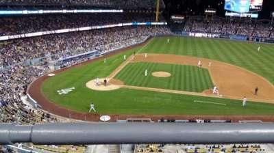 Dodger Stadium secção preferred reserve mvp 16