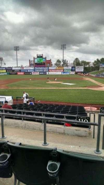 TD Bank Ballpark, secção: 210, fila: M, lugar: 1