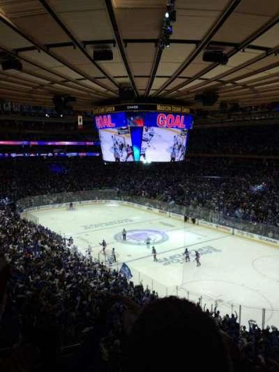 Madison Square Garden secção 215