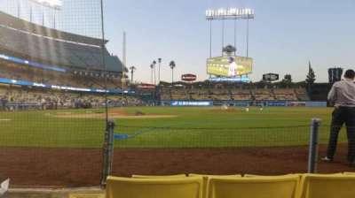 Dodger Stadium secção 4dg