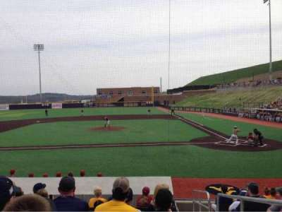 Monongalia County Ballpark secção 102B