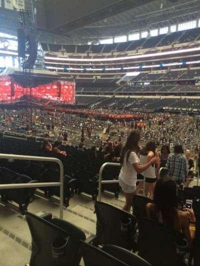 AT&T Stadium secção 127