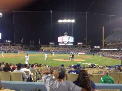 Dodger Stadium secção Field 5 VIP
