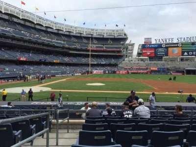 Yankee Stadium secção 116