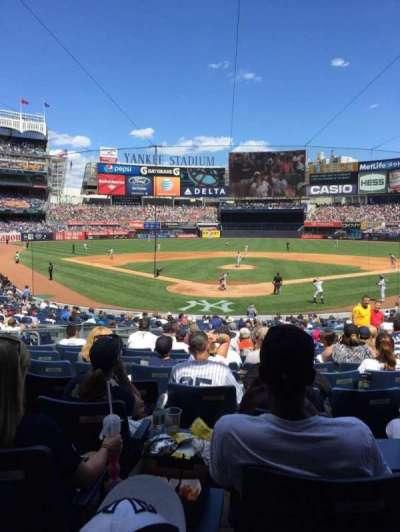 Yankee Stadium secção 120A