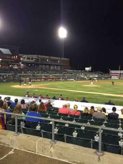 TD Bank Ballpark, secção: 213, fila: K, lugar: 15