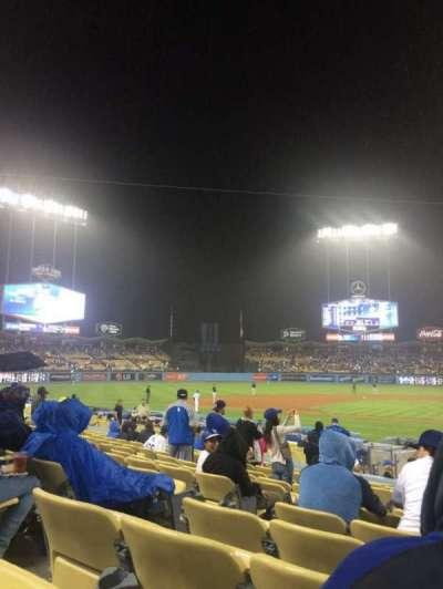Dodger Stadium secção 13FD
