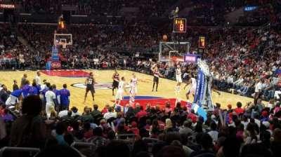 Staples Center secção 116