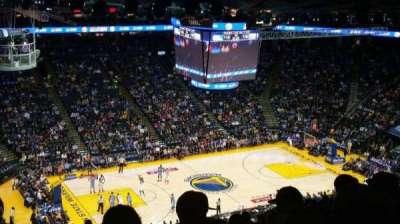 Oracle Arena, secção: 203, fila: 16, lugar: 19