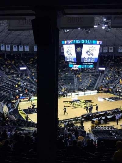 Charles Koch Arena secção 123