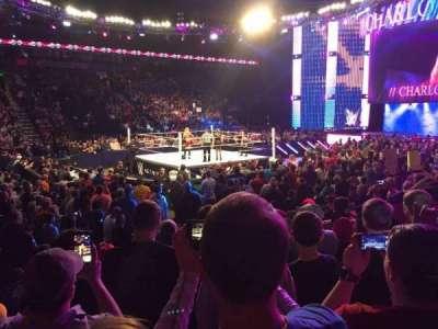 Bridgestone Arena, secção: 104, fila: GG, lugar: 11