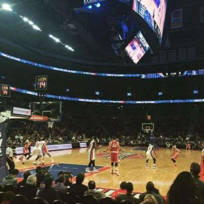 The Palace of Auburn Hills, secção: 107A, fila: AAA, lugar: 1