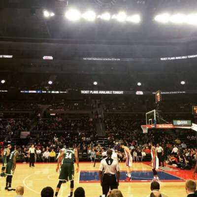 The Palace of Auburn Hills, secção: 113, fila: BB, lugar: 5