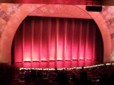 Radio City Music Hall secção 1st Mezzanine 6