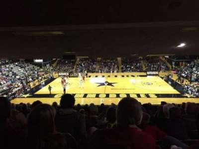 Memorial Gymnasium (Vanderbilt), secção: 2C, fila: 14, lugar: 3