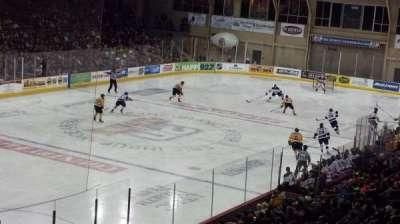 Erie Insurance Arena, secção: 213, fila: Z, lugar: 4