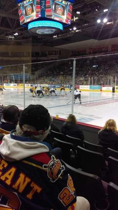 Erie Insurance Arena, secção: 121, fila: E, lugar: 5