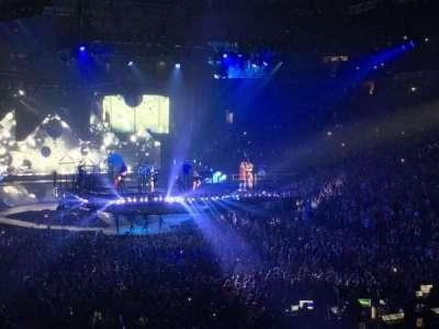 Oracle Arena, secção: 109, fila: 23, lugar: 18