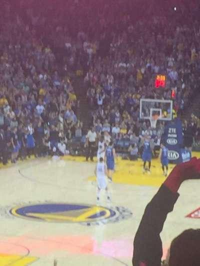 Oakland Arena secção 120
