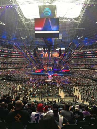 AT&T Stadium secção 222