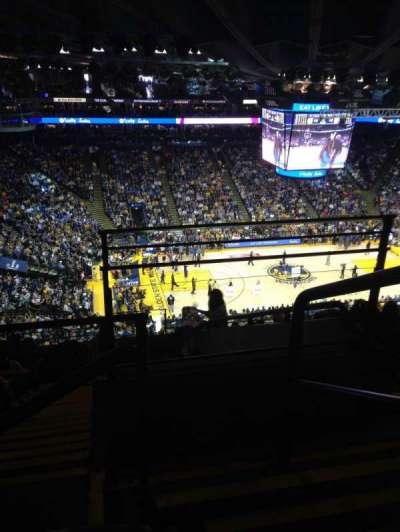 Oracle Arena, secção: 219, fila: 11, lugar: 1-2