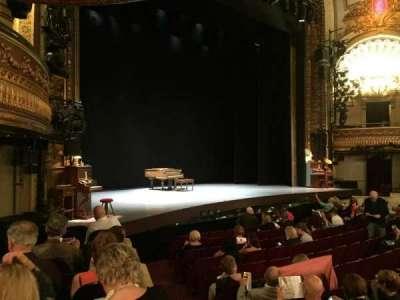 Palace Theatre (Broadway), secção: Orchestra Left, fila: H