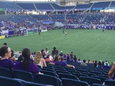 Camping World Stadium, secção: 109, fila: Y, lugar: 10