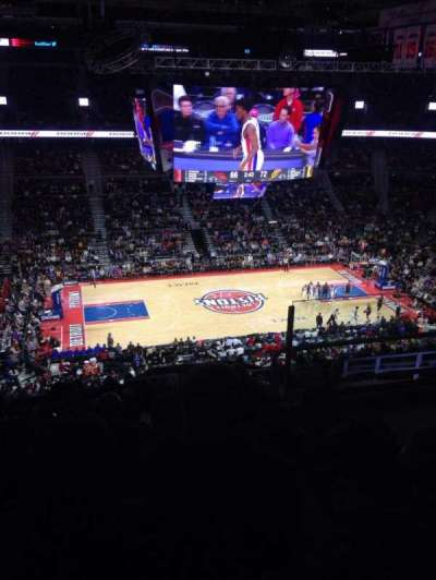 The Palace of Auburn Hills, secção: 217, fila: 13, lugar: 4