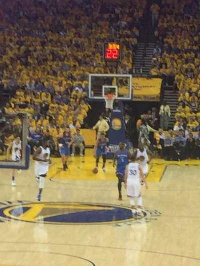 Oakland Arena secção 107
