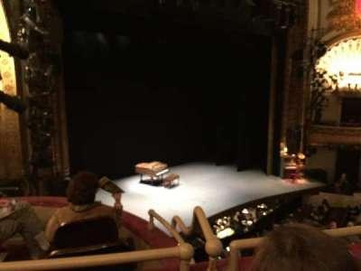 Palace Theatre (Broadway), secção: Mezzanine, fila: A, lugar: 23