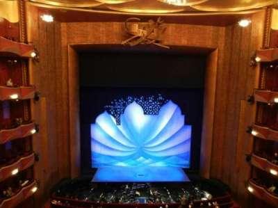 Metropolitan Opera House - Lincoln Center secção Balcony