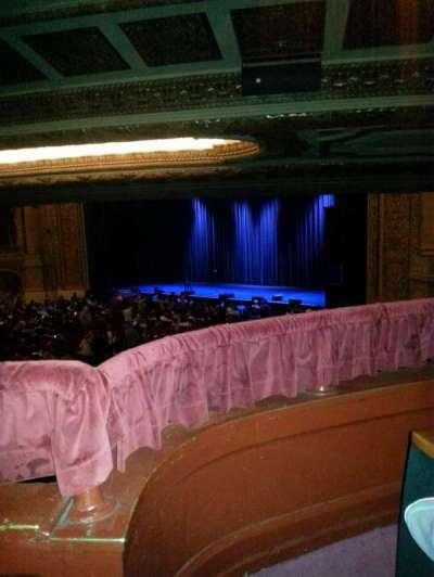 Chicago Theatre, secção: Box F, lugar: 6