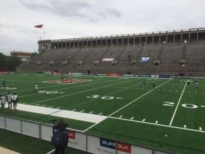 Harvard Stadium, secção: 28, fila: N, lugar: 14