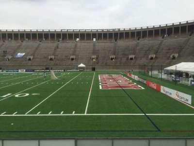 Harvard Stadium, secção: 26, fila: N, lugar: 14