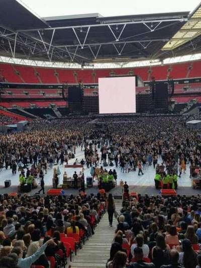Wembley Stadium secção 11