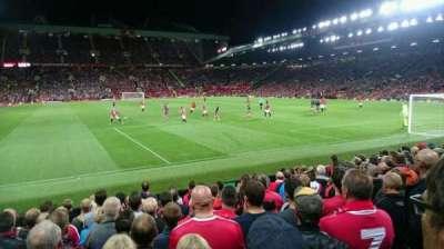 Old Trafford, secção: W102, fila: MM, lugar: 159