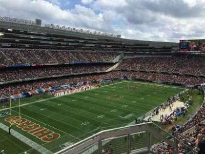 Soldier Field, secção: 445, fila: 3, lugar: 18