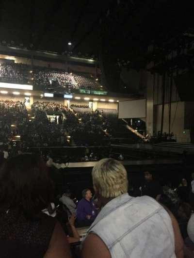 Royal Farms Arena, secção: 108, fila: D, lugar: 3