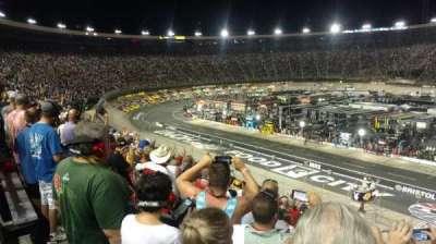 Bristol Motor Speedway secção Allison